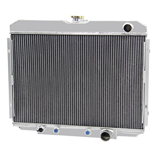 CoolingCare 56MM 3 Row All Aluminum Radiator for Ford Mustang Cougar XR-7 V8 1967-70 ()