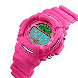 Tayhot Kids Digital Watches,Boys Girls Watch,Children Sports Waterproof Watch,Kids Digital Quartz Watch,LED Digital Watch with Alarm Back Light for Boys Girls Student