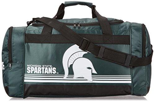 (Michigan State Medium Striped Core Duffle Bag)