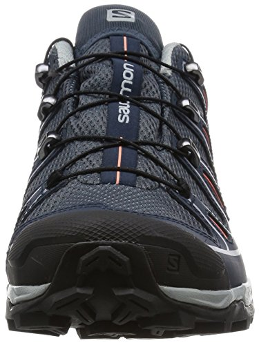grey Salomon Melon Denim Bloom Deep Blue Gris BB5q41