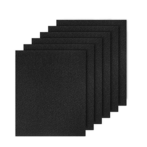 Cabiclean HPA300 Activated Carbon Pre Filters Compatible Honeywell HPA300 Series Air Purifier, 6 Pack