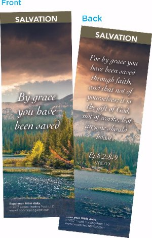 - Bible Cards - Salvation - By Grace (Pk/25)
