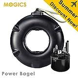 MOGICS Bagel- (Black) Universal Travel Power Strip