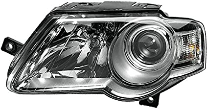Ohne Kurvenlicht Rechts mit Stellmotor f/ür LWR mit Gl/ühlampen HELLA 1EL 247 014-021 Halogen Hauptscheinwerfer