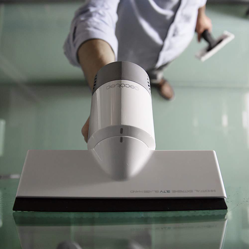 Aspirador de Ventanas Potente. Limpia en 3 Fases. Autonomía de 30 Minutos. Incluye pulverizador.: Amazon.es: Hogar