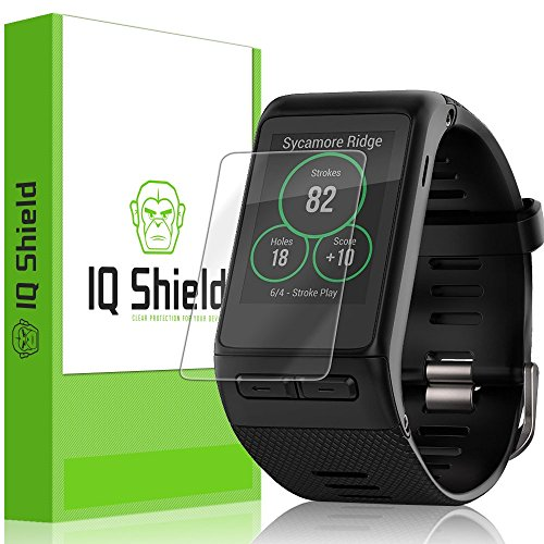 [6-Pack] IQ Shield LiQuidSkin Clear Screen Protector for Garmin Vivoactive HR Bubble Free Film