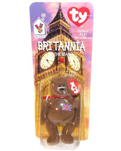 Ty 1999 Britannia the Bear NIP Ronald McDonald's House Plush Toy
