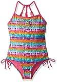 YMI Big Girls' Hippie Love One Piece, Multi-Colored, 10/12