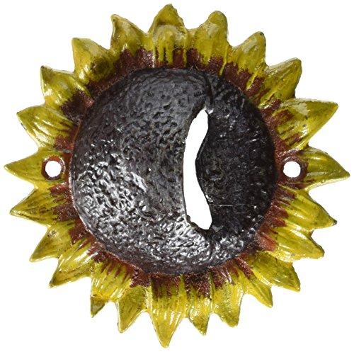 (Design Toscano Sunny Sunflower Cast Iron Bottle Opener)