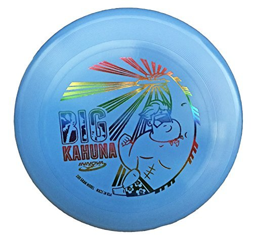 Promotional Flying Discs - INNOVA Big Kahuna 200g Ultimate Catch Disc - Dude - Blue