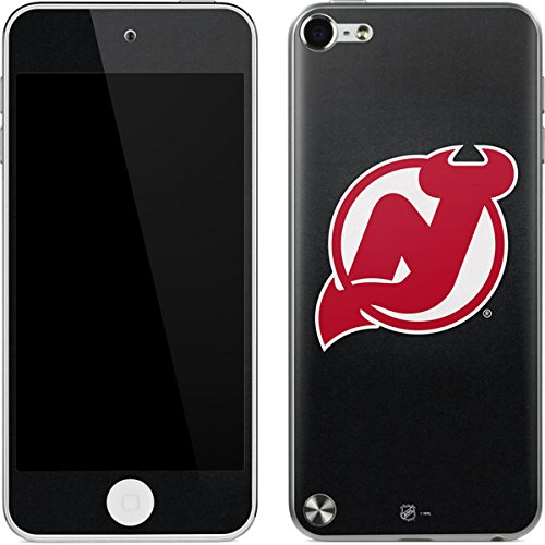 (NHL New Jersey Devils iPod Touch (5th Gen&2012) Skin - New Jersey Devils Black Background Vinyl Decal Skin For Your iPod Touch (5th Gen&2012) )