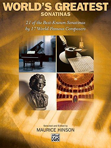 World's Greatest Piano Sonatinas (Songbook Worlds Greatest)