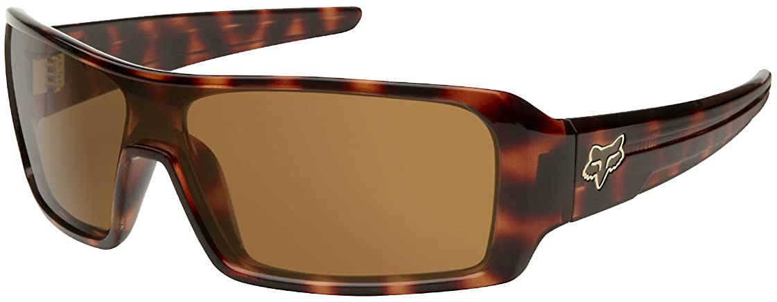 f5fd40a165 Fox Racing The Duncan Sunglasses - One size fits most Brown Tortoise Bronze   Amazon.in  Clothing   Accessories