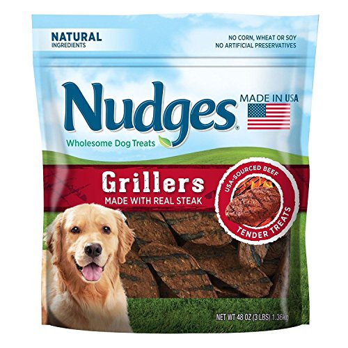 Nudges Wholesome Dog Treats, Steak Grillers (48 oz.) BIG BAG