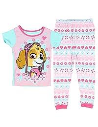 Nickelodeon Paw Patrol Little Girls 2 PC Pajama Skye