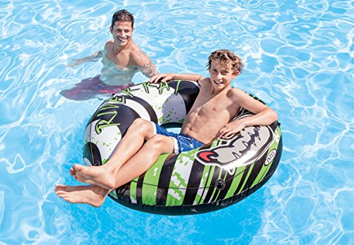 (Intex 2-Pack River Rat 48-Inch Inflatable Tubes for Lake/Pool/River | 2 x 68209E)