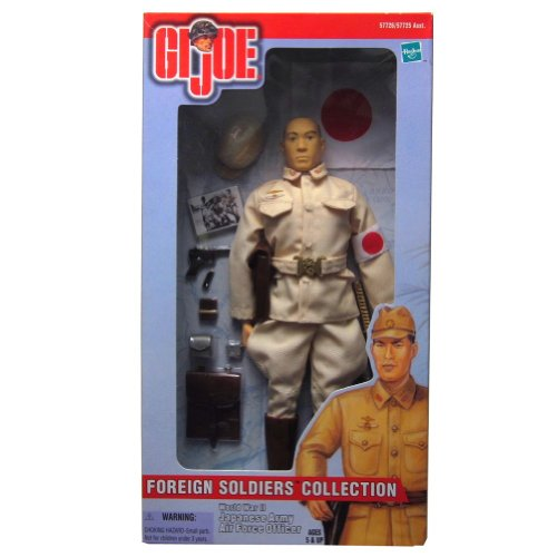 "Hasbro Year 2000 G.I. JOE ""Foreign Soldiers Collection"" Series 12 Inch Tall Soldier Action Figure - World War II"