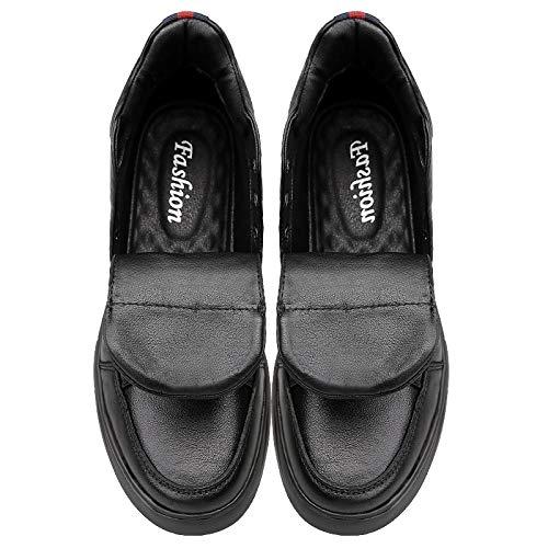 LOVDRAM Stiefel Männer Martin Stiefel Herren Winterschuhe Herren Leder Schneeschuhe Hoch Casual Männer Schuhe Dicke Warme Baumwolle Schuhe