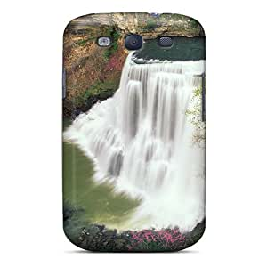 Galaxy S3 Case Cover Burgess Falls Tennessee Case - Eco-friendly Packaging