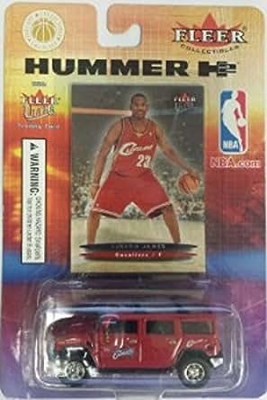 6b255a7298f6 Amazon.com  2003- 2004 Fleer Ultra Hummer H2 LeBron James Rookie ...