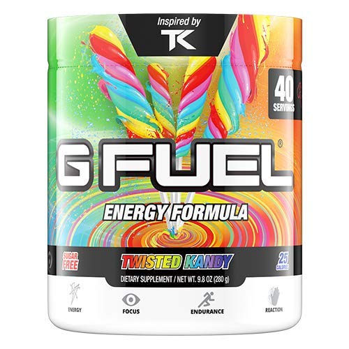 G Fuel Twisted Kandy Tub (40 Servings) Elite Energy and Endurance Formula Inspired by TK by G Fuel