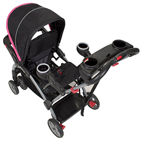 Baby Trend Sit n Stand Ultra Stroller, Bubble Gum by Baby Trend (Image #3)