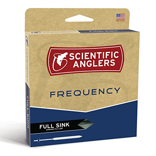 Scientific Anglers Type III Frequency Full Sinking Line, Dark Green, WF- 5-S
