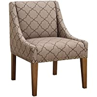 Pearington Contemporary Versatile Accent Chair, Moroccan Mocha