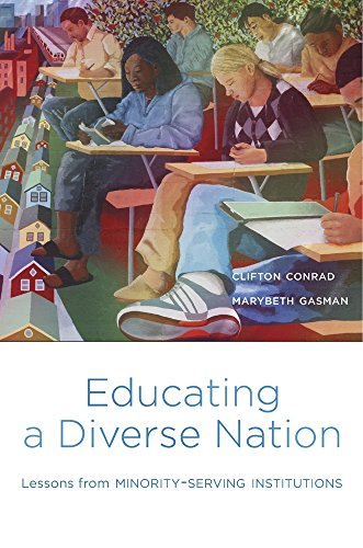 Books : Educating a Diverse Nation: Lessons from Minority-Serving Institutions