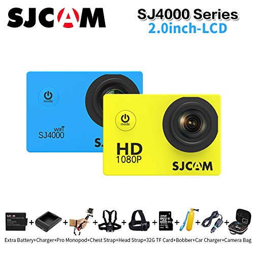 SJCAM SJ4000 Wifi 1080P Full HD Action Camera Sport DVR (Silver) - 3
