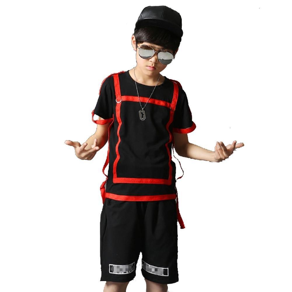 Wgwioo Wgwioo Wgwioo Hip-Hop Kinder Tanz Kostüme Klassik Jazz Lose Teen Jungen Mädchen Tragen Kinder Bühne Aufführungen Chor Gruppe Team B071YXJK4J Bekleidung Fairer Preis 4b464d