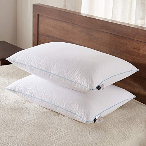 Goose Down Alternative Bed Pillow Super Soft Plush Fiber