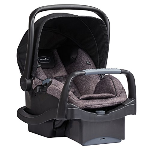 514qZZALNQL - Evenflo Pivot Modular Travel System With SafeMax Car Seat, Casual Gray