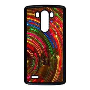 Colorful Fantasy Trippy LG G3 Cell Phone Case Black