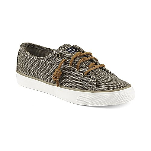 Taupe Top Boat Songfish Women's Sperry Sider Shoe Waxy Aqw0P