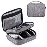 Electronics Organizer Bag,Reotech Electronic Accessory Storage Carrying bag Outdoor Travel Sleeve Mouse Pocket for Small Electronics and Accessories Shockproof
