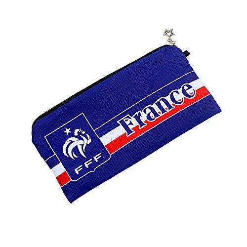 France Football Soccer National Team Soccer Gift Stationery Pencil Case Pen Bag