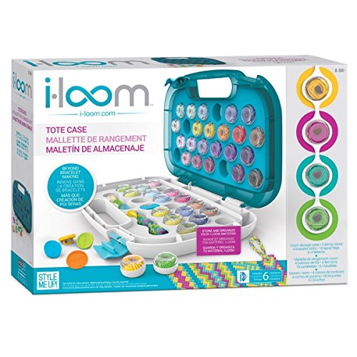 Style Me Up - I-Loom Bracelet Maker Tote Case - Store up to...