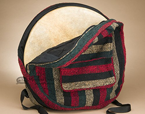 Baja Style Hand Drum Back Pack Carry Bag 16