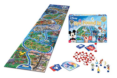 Ravensburger World of Disney Eye Found It Board Game for Boys and Girls Ages 4 and Up - A Fun Family Game You'll Want to Play Again and Again (Game Board Ispy)
