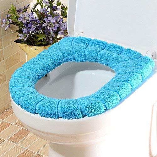 Toilet Cushion Toilet Cushion Geometric Bathmats Toilet Mat Three Piece Bathroom Mat,G