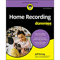 Home Recording For Dummies book cover