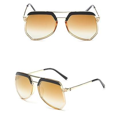 Feliz Unisex hormiga gris plana recubrimiento espejo gafas ...
