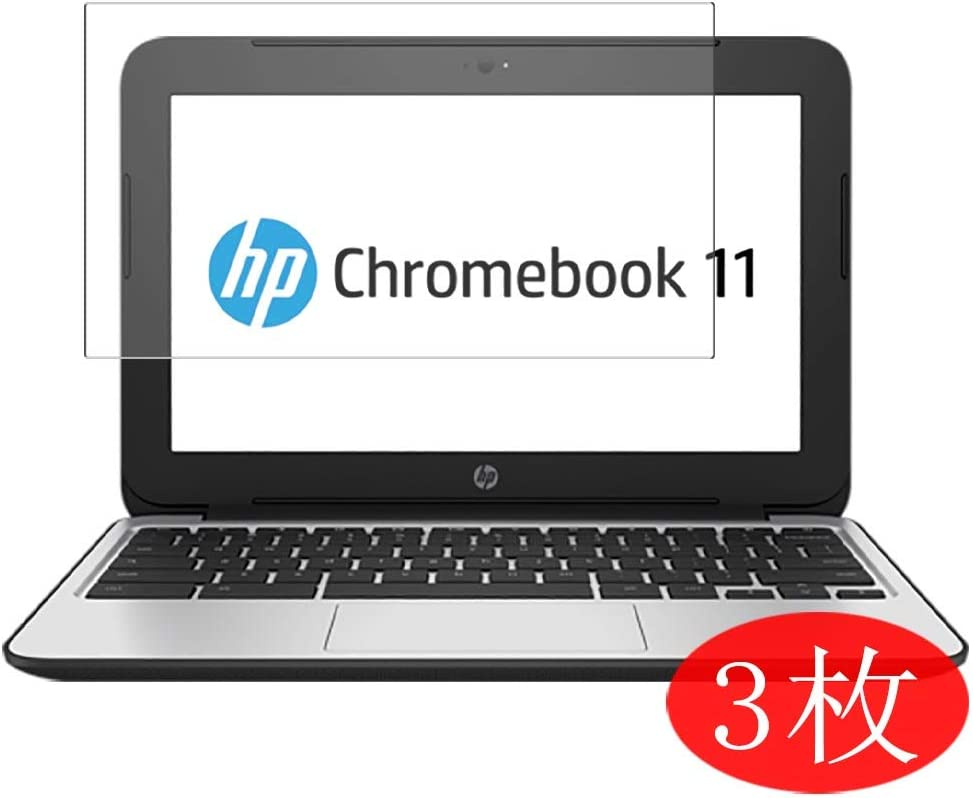 """【3 Pack】 Synvy Screen Protector for HP Chromebook 11 G4 11.6"""" TPU Flexible HD Film Protective Protectors [Not Tempered Glass]"""