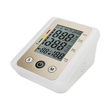 Medidor Digital de atención de salud tensiómetro pulso Monitor Monitor Esfigmomanómetro portátil monitores de presión arterial totalmente automático Amn ...