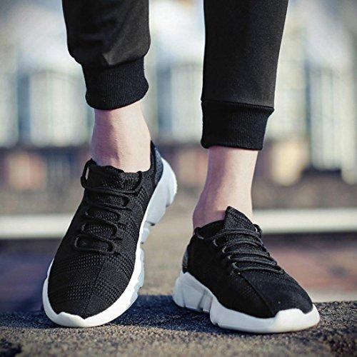 Tout Hommes Sport Femmes Antidrapantes Absorbantes Pour Noir De Et Luoluoluo Course respirantes Chaussures Respirantes qtTYAw0