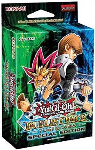 - YuGiOh Duelist Pack Yugi & Kaiba SE Special Edition Pack [6 Booster Packs]