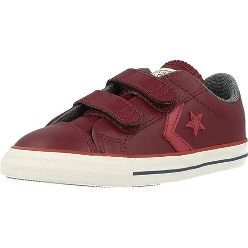Zapatillas Converse Star Player EV 3V OX Granate: Amazon.es: Zapatos y complementos