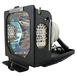 Electrified LV-LP18 / 9268A001 / POA-LMP55 Replacement Lamp with Housing for Canon Projectors