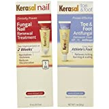 Kerasal complete care 2 in 1 nail toe & foot Anti - Fungal treatment cream by Kerasal